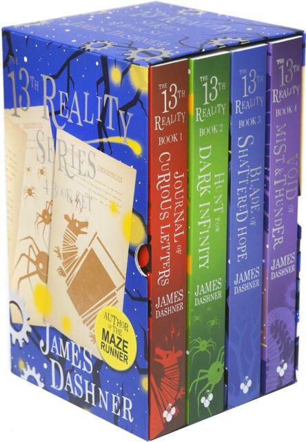 The 13th Reality Series Collection James Dashner 4 Books Box Set Dark Infinity