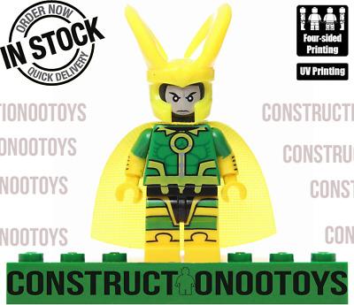 Loki lego Custom PAD UV PRINTED Minifigure Lady Loki Thor female