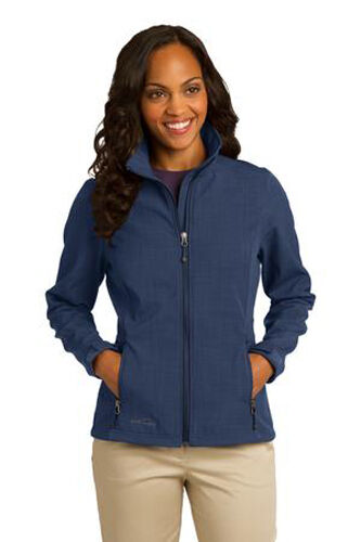 Ladies Bauer Jacket Shaded Eddie Ny Soft Crosshatch Shell Blue gEUwq5q