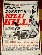 LADIES BLACK DRESS 1965 FASTER PUSSYCAT KILL KILL CULT B-MOVIE RUSS MEYER S-XL