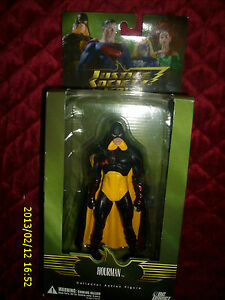 """JUSTICE SOCIETY AMERICA HOURMAN COLLECTOR ACTION 8/"""" FIGURE"""