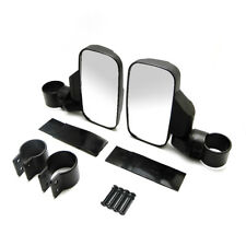 """Rear View Mirror Set UTV Side View High Impact with 1.5"""" - 2"""" Clamp Roll Cage"""