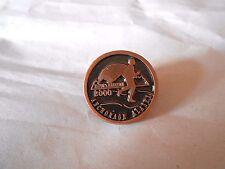 Vintage 2000 Anchorage Alaska Mayor's Marathon Souvenir Pin