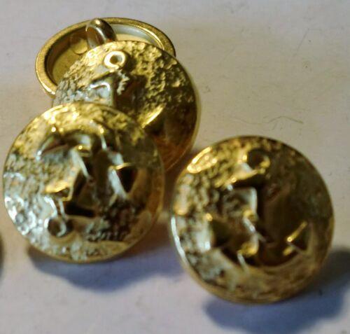 "laiton 8 boutons métal ösenknopf /""ANCRE/"""