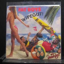 "Fat Boys And The Beach Boys - Wipeout! 7"" Mint- 885 960-7 1987 USA Vinyl 45"