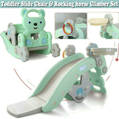 4-in-1 Child Climbing And Rocking Hors Suit For Indoor And Backyard Baskets UK