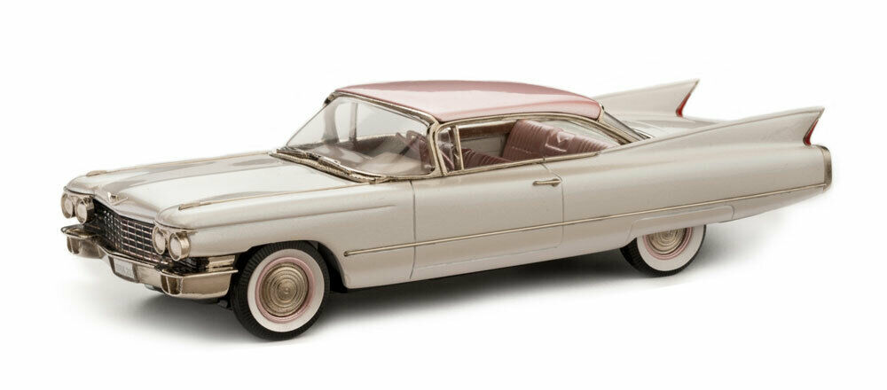 BROOKLIN BROOKLIN 1960 CADILLAC SERIES 62 COUPE - BRK 207P--PINK COLLECTION