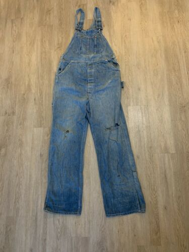 Vintage Pay Day Payday Overalls Squareback