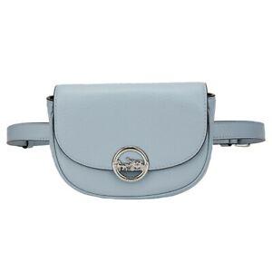 NWT-COACH-Jade-Mini-Belt-Bag-Swing-Fanny-Pack-Pouch-Pale-Blue-Silver-Logo-F79941