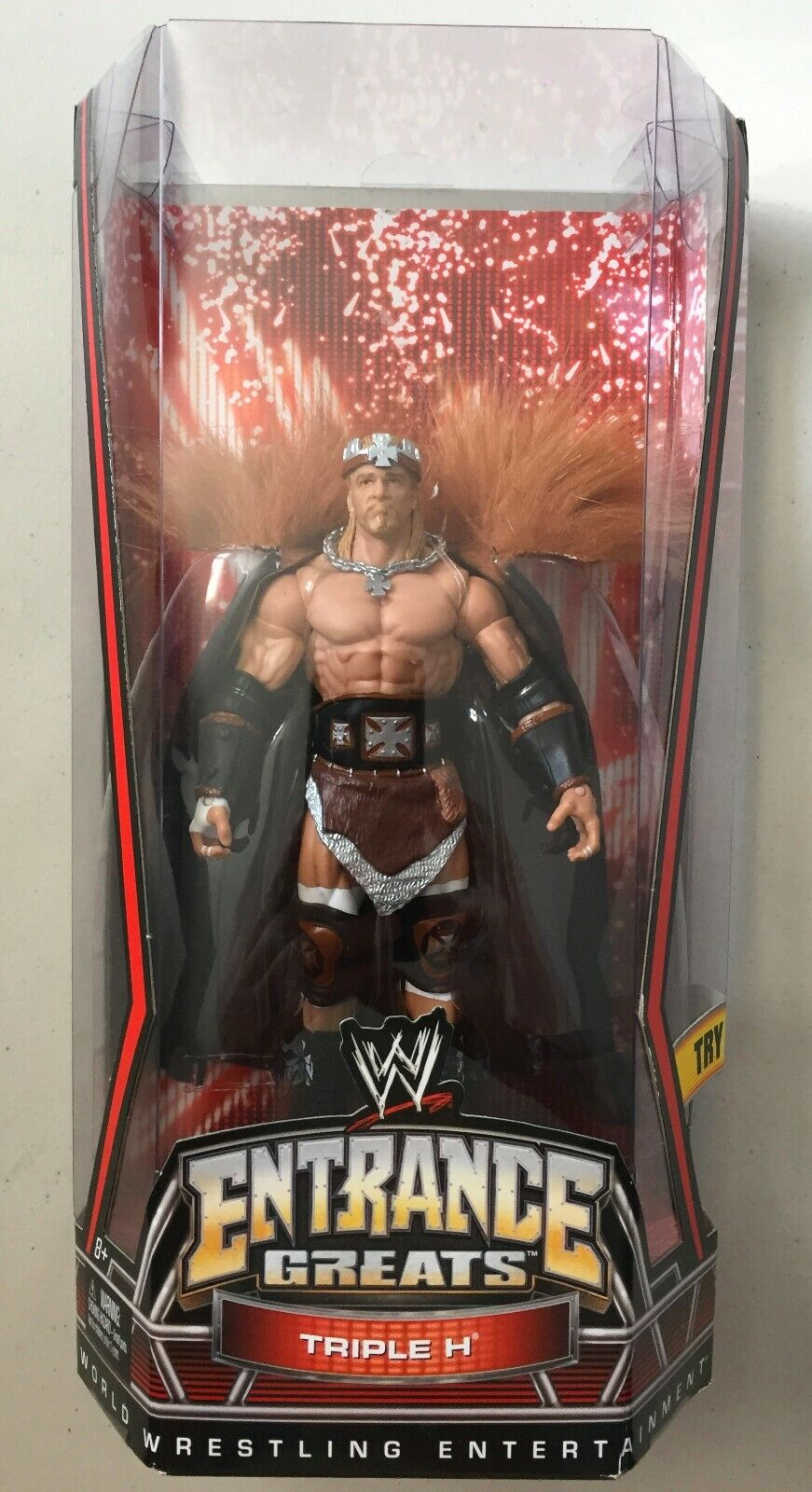 WWE Elite Entrance Greats THE GAME TRIPLE H HHH Wrestling Figure WWF