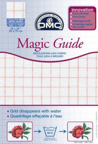 50x75cm blanc-dc28mg 14 count Magic Guide 20x30 pouces