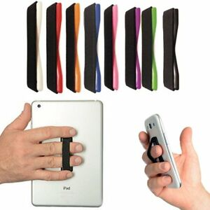 Phone Finger Strap Elastic Hand Selfie Grip Strapzy Holder Mobile Iphone 6 7 Uk Ebay