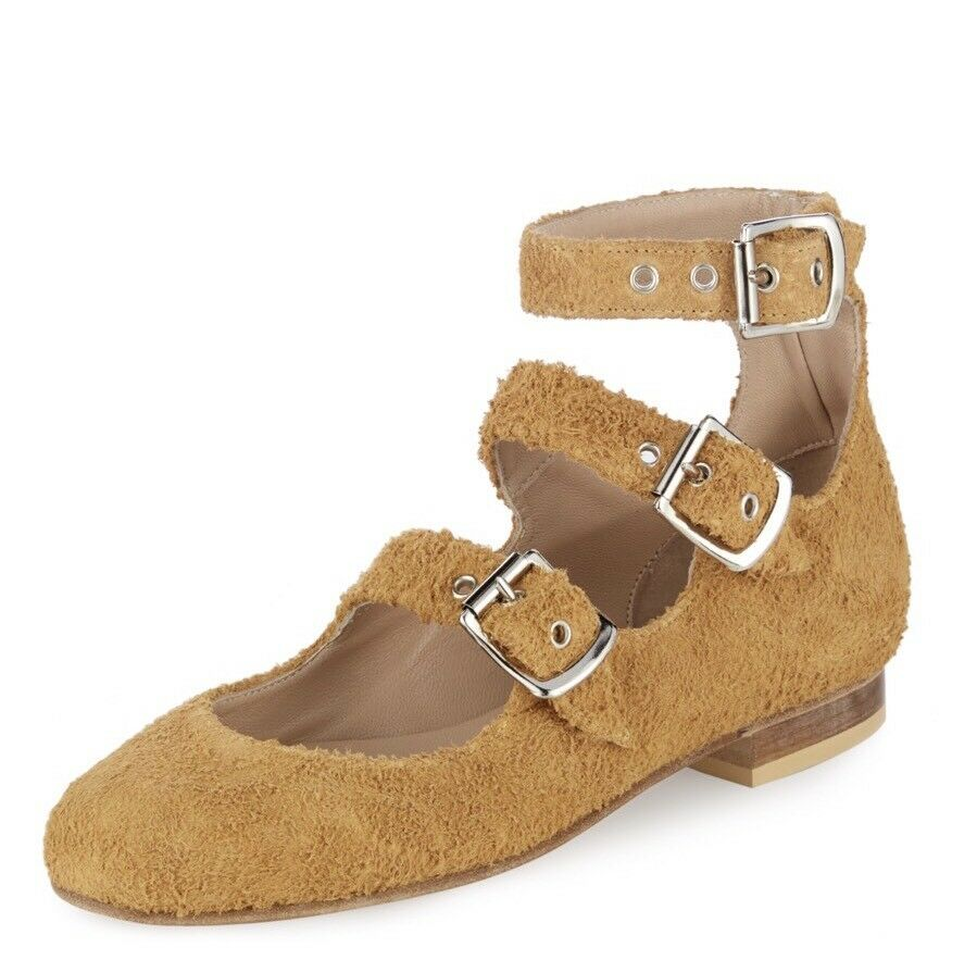RARO!!! BNWB Vivienne Westwood 3-Strap Romano Shoes. Desert Tan. .uk 3/36