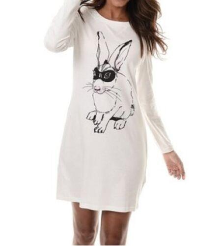 Ringella pijama conejo bigshirt camisón talla 32//34-44//46 nuevo 850