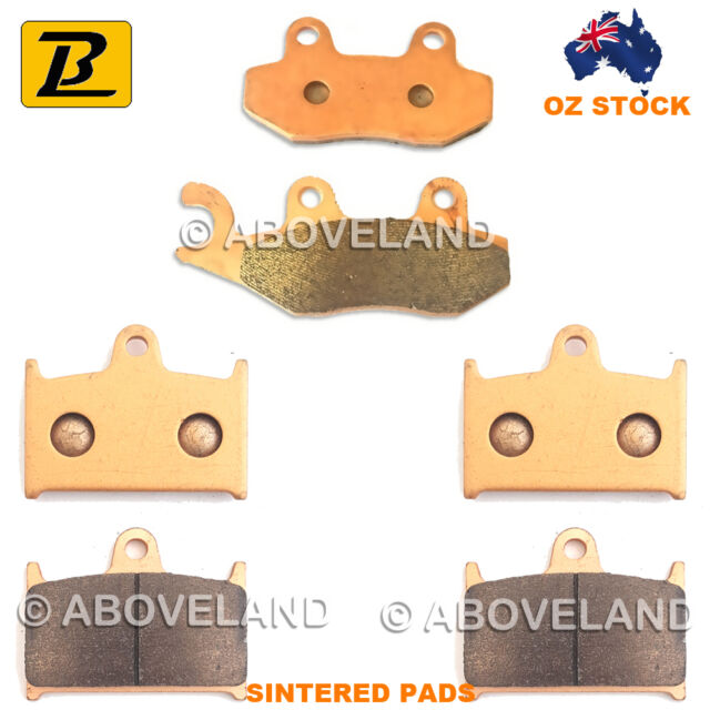 FRONT+REAR Sintered Brake Pads TRIUMPH Sprint RS VIN 139277-161317 2003-2004