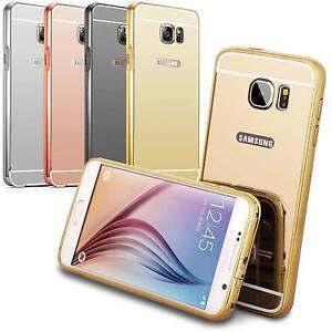 Coque-Bumper-Metal-Samsung-Galaxy-Etui-Housse-Anti-Choc-Miroir-Lincivius