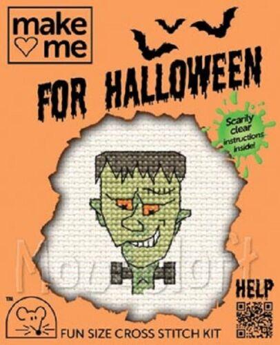 Choice of 6 Designs Mouseloft Stitchlets /'Halloween/' Cross Stitch Kits