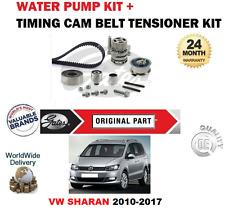 FÜR VW SHARAN 2.0 TDi 16V BlueMotion 2010-2017 ZAHNRIEMEN KIT + WASSERPUMPE