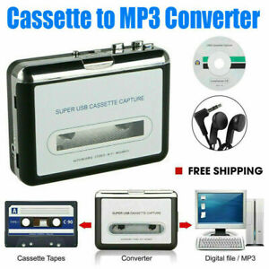 Tape-to-PC-Cassette-to-MP3-CD-File-Converter-Capture-Digital-Audio-Music-Player