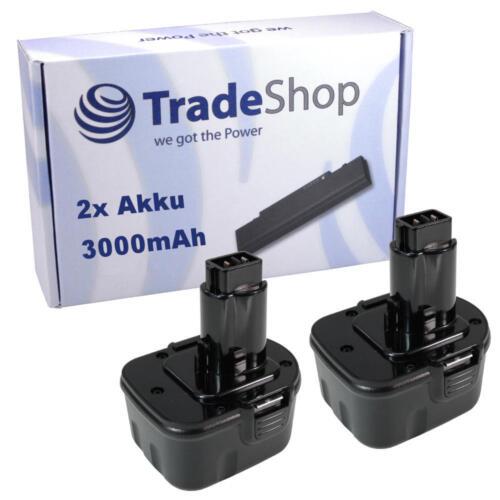 2x Akku 3000mAh 12V für WÜRTH BS12A Power Würthmaster SP12V 700900320
