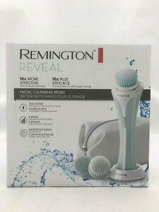 Remington Reveal Facial Cleansing Brush: Waterproof I 3 Brush Heads