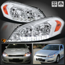 For 2006 2013 Chevy Impala 2006 2007 Monte Carlo Clear Led Headlights Leftright Fits 2006 Impala