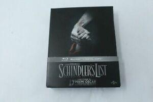 Schindler-039-s-List-25th-Ann-Def-Edit-Blu-Ray-Disc-2-DVD-Digibook-Nuovo