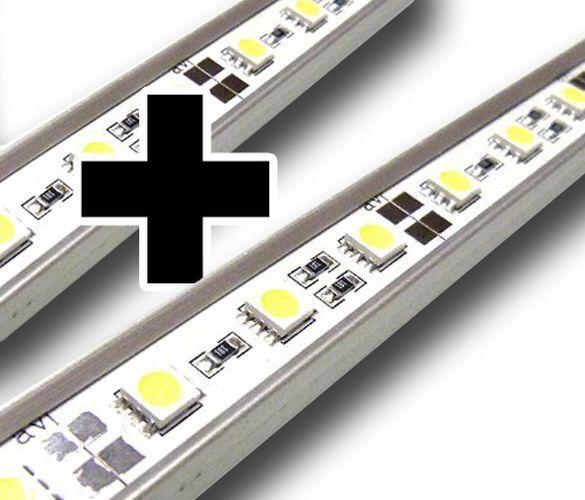 EXTRA LED LAMPE BAR WARMWEISS FÜR AB7 AQUARIUMLEUCHTE 30CM AB7WW-2