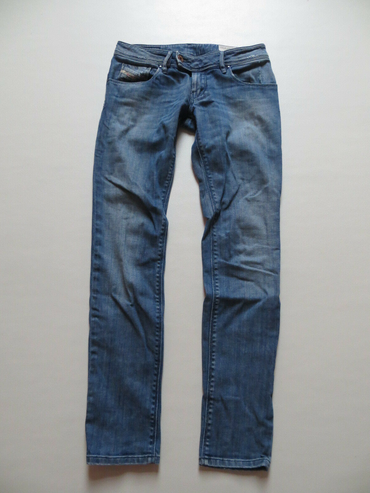 Diesel NEVY wash 008RI_stretch Jeans Hose W 27  L 32 Skinny Slim fit Hüfthose