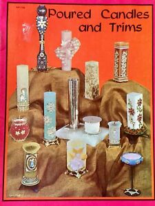 Poured-Candles-and-Trims-Craft-Book-Vintage-1965