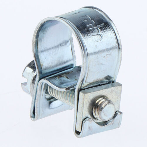 Blesiya 10pc Ø 9-11mm Hose Clamp Stainless Steel Hose Fuel Line Clamp