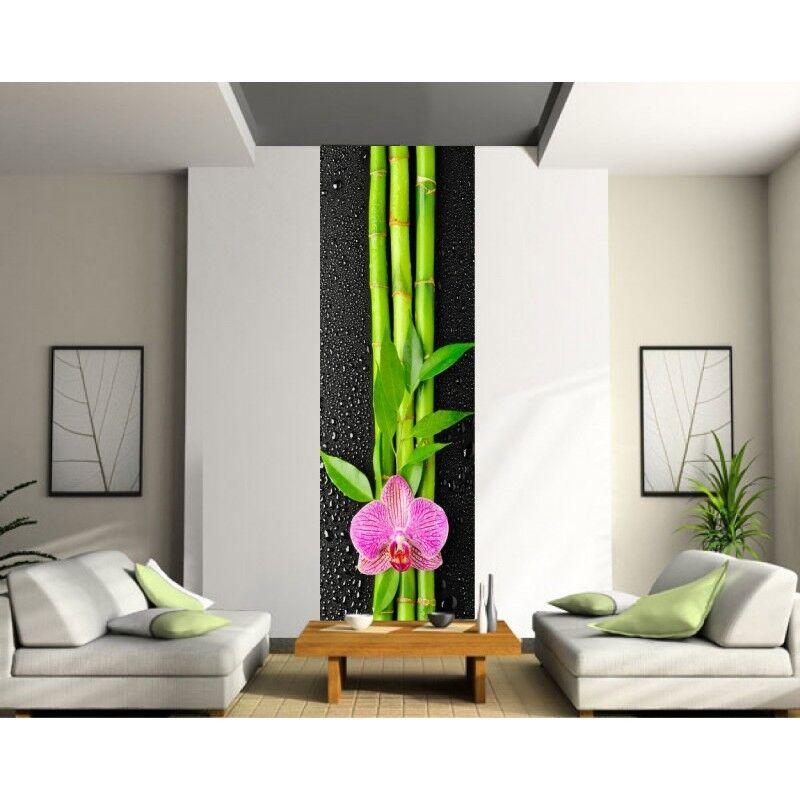 Adhesivo Gigante Trampantojo Trampantojo Flor Bambú 402