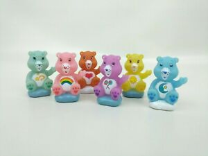 Excellent Care Bears Lot Of 6 Birthday Cake Topper Figures On Clouds Cheer Birthday Cards Printable Benkemecafe Filternl