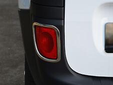 Cromo Reflector Luz De Niebla Aros acentos rodea Para Renault Kangoo 08 +