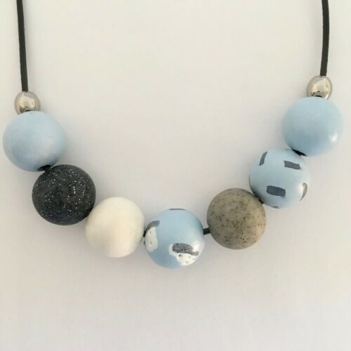 Polymer Clay Ladies Handmade Clay Necklace /'WILLOW/'
