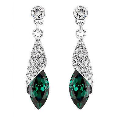 Cristal Vert Émeraude Bijouterie Éclat de Diamant Strass