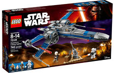 LEGO STAR WARS RESISTANCE X-WING FIGHTER +4 MINIFIGURES POE BB-8 75149 BOXSET