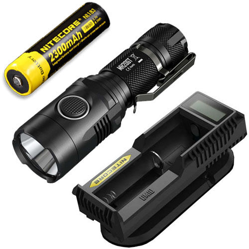Nitecore MH20GT Rechargeable Flashlight w  NL183 Battery & UM10 Charger