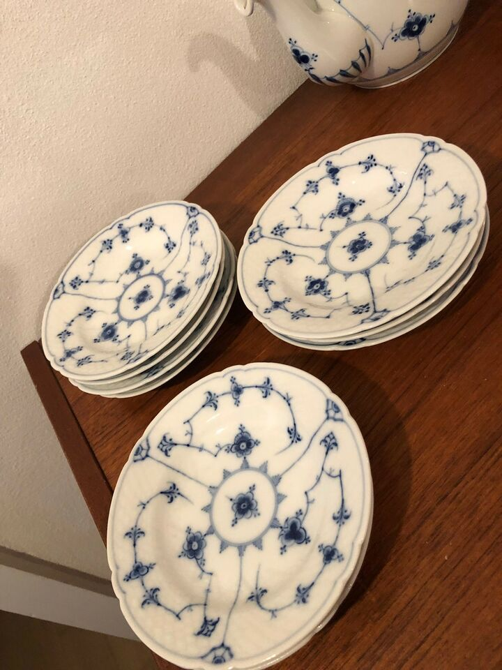 Porcelæn, Sidetallerken mussel, Bing og Grøndahl