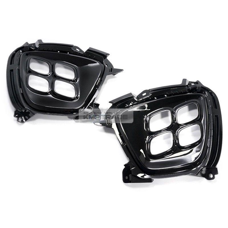Genuine High Glossy Fog Lamp Cover 2EA 1Set For Kia Sorento 2015 2016