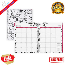 Blue Sky 2019 Weekly Amp Monthly Planner Flexible Cover Twin Wire Binding 85x11
