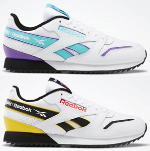 bcdf3b7b53dc8 Reebok Classic Leather Ripple Sneaker Men's Lifestyle Shoes   eBay