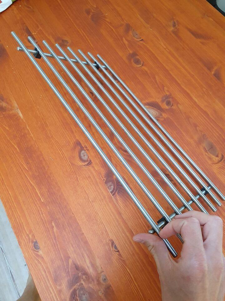 Bordskåner i rustfrit stål