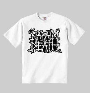 NAPALM DEATH logo model:1 t-shirt toddler clothing Children clothes boy girl kid