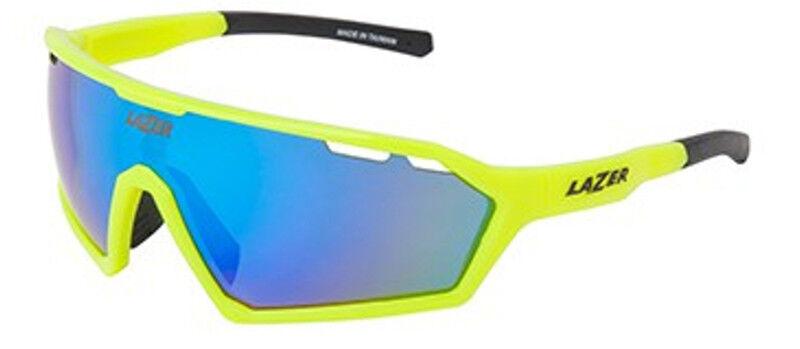 Lazer Walter Sunglasses Gloss Flash Yellow (bluee, Yellow, Clear Lenses)