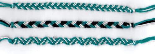 lot de 3 bracelet bresilien TURQUOISE