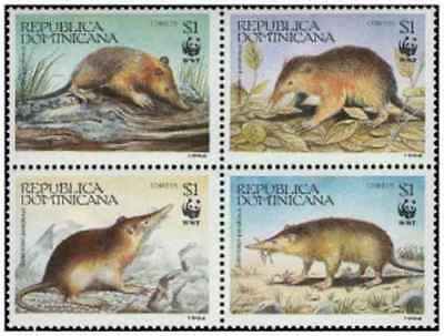 Animal Kingdom 2019 New Style Timbres Animaux Dominicaine 1145/8 ** Année 1994 Lot 24742