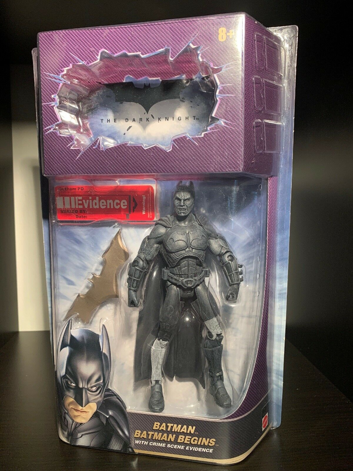 Batman Begins The Dark Knight Fear Toxin Chase Figure Mattel Movie Masters