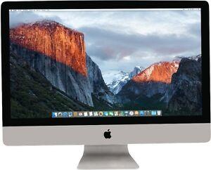 Apple iMac 27 - Intel Core i5 3,50GHz (8GB|1TB Hyb|R575) 2017