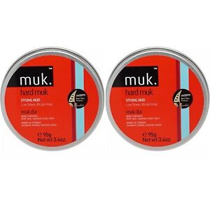 2-X-MUK-HARD-MUK-95g-Brutal-Hold-Low-Sheen-Genuine-SAME-SAY-POST-Aus-Store
